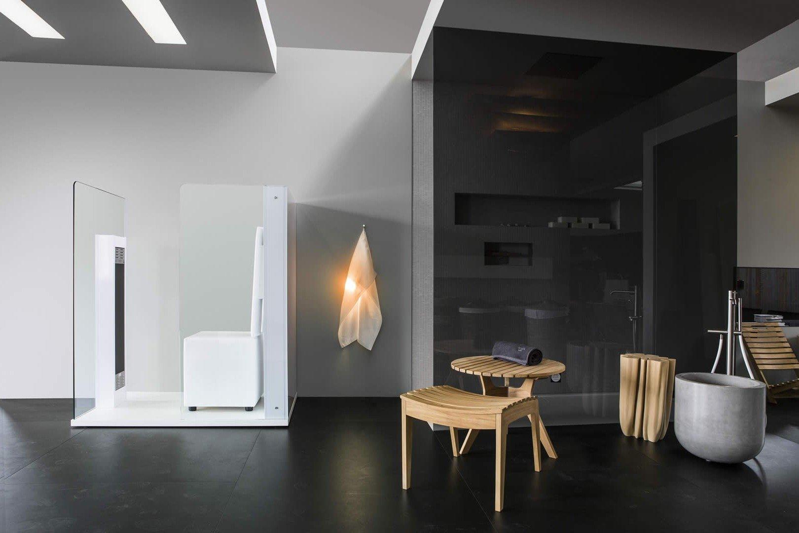 Schick und stilvoll - eine Luxus Infrarotkabine für Zuhause