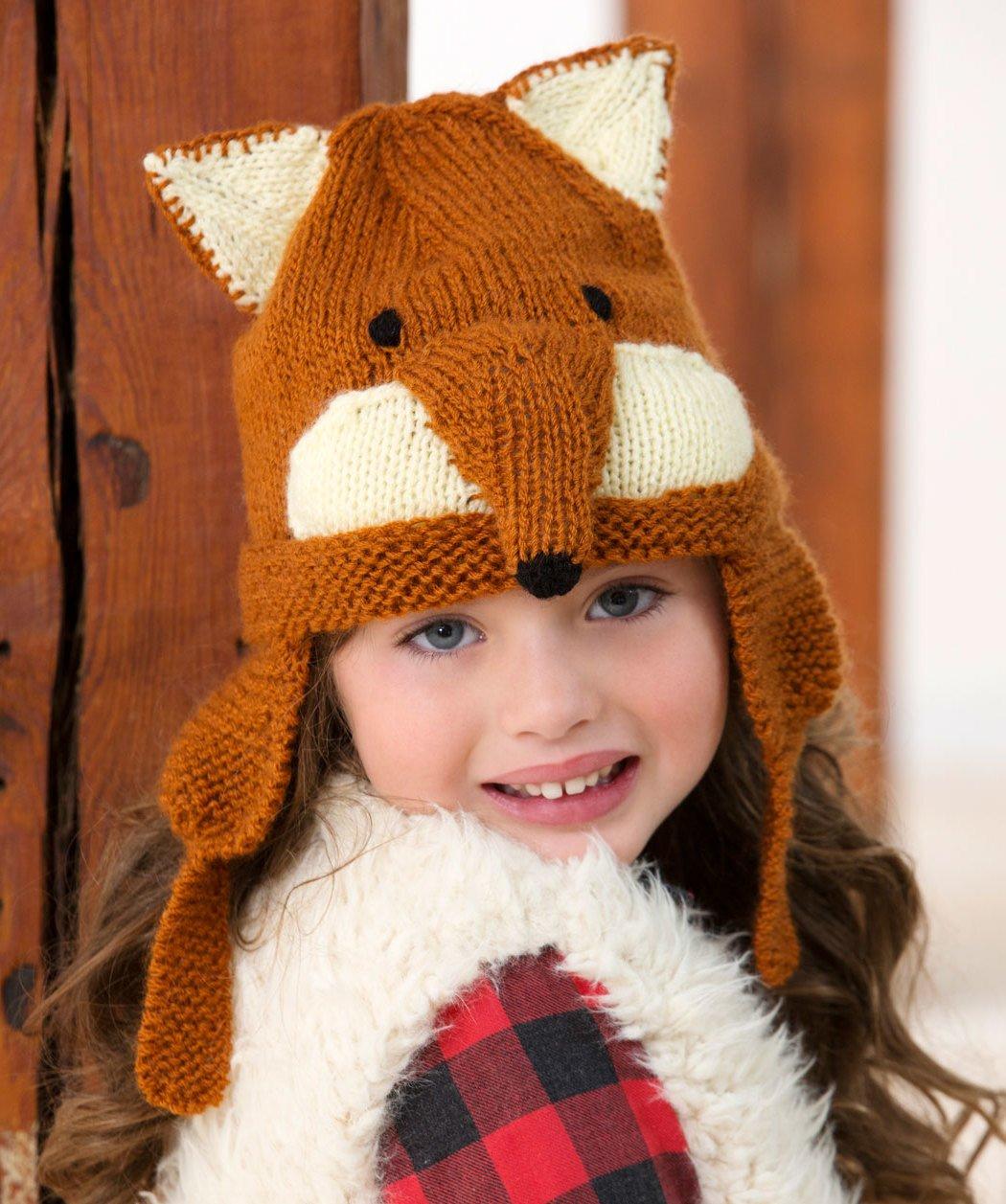 Fuchsmütze für Kinder
