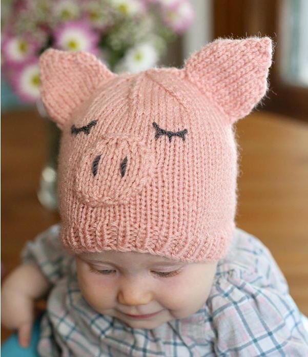 Das süße Schweinchen mit den Öhrchen