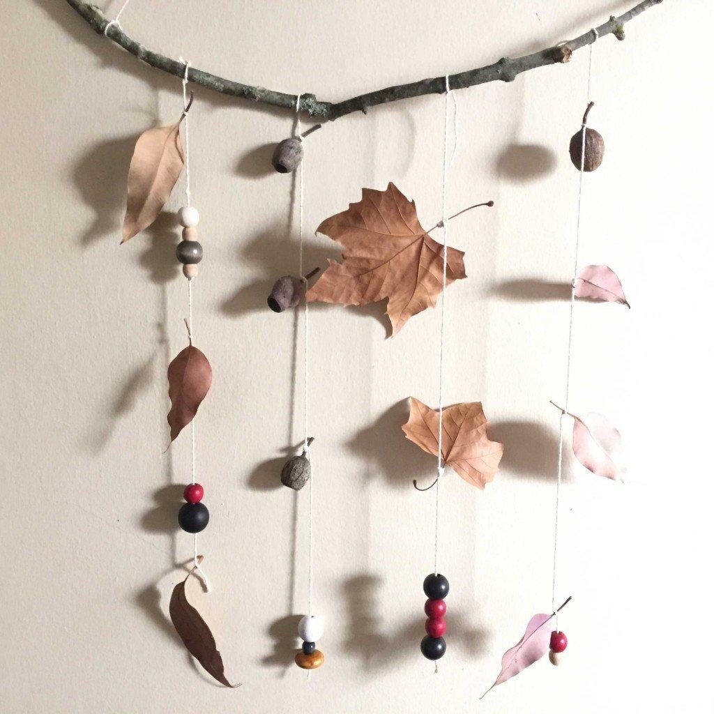 Kreative ideen f r mobile basteln zum selbermachen bastelideen deko feiern diy zenideen - Deko fur fenster zum hangen ...