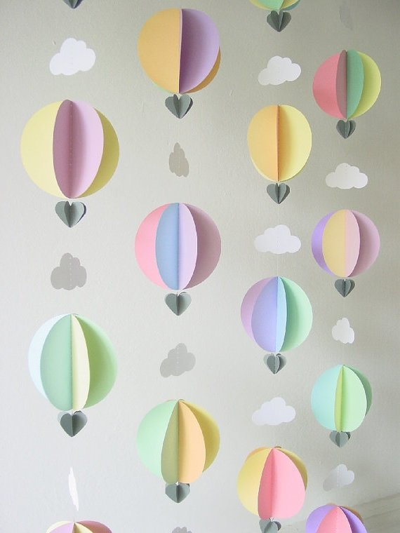 Luftballons für das Kinderzimmer