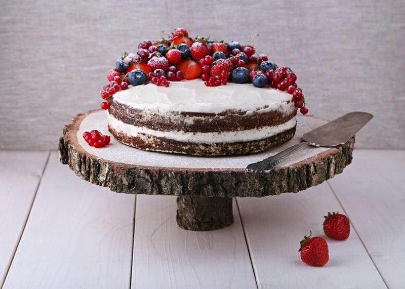 Naked Cake Rezept Sallys Torten