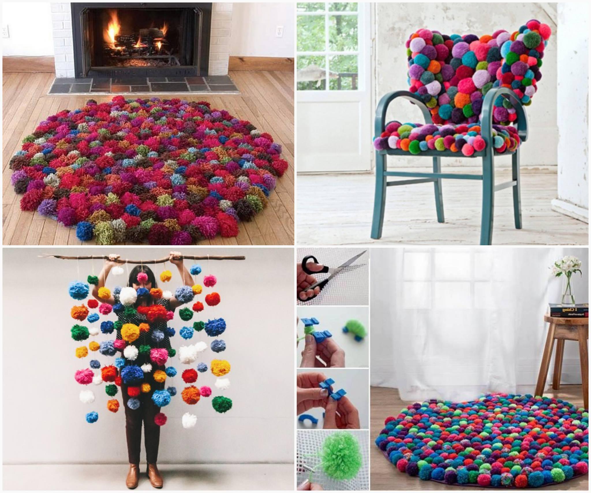 Gestalten Sie sich Zuhause die coolsten Sachen aus Pompoms