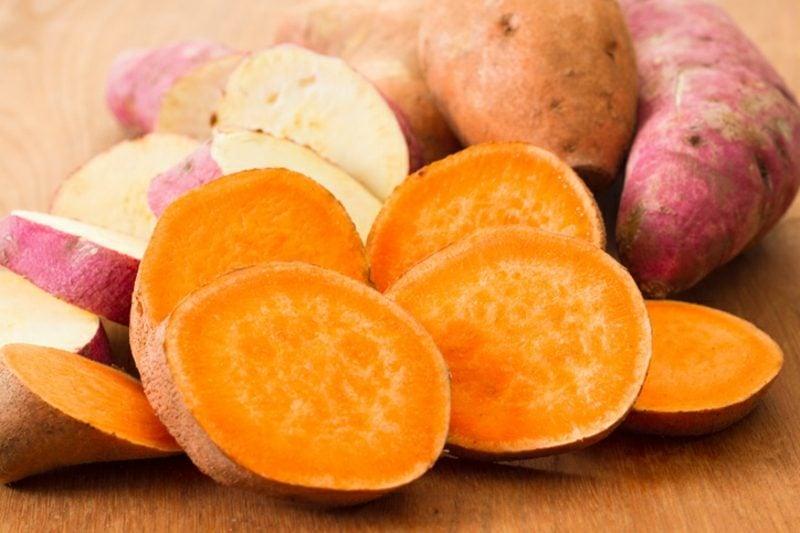 Süβkartoffel Pommes gesundes Rezept Herbst
