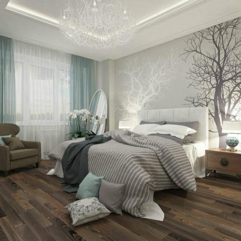 Schlafzimmer Deko Fototapete