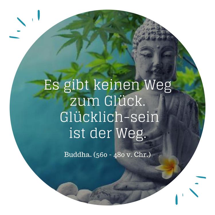 Lebensmotto Sprüche Zitate Glück Buddha