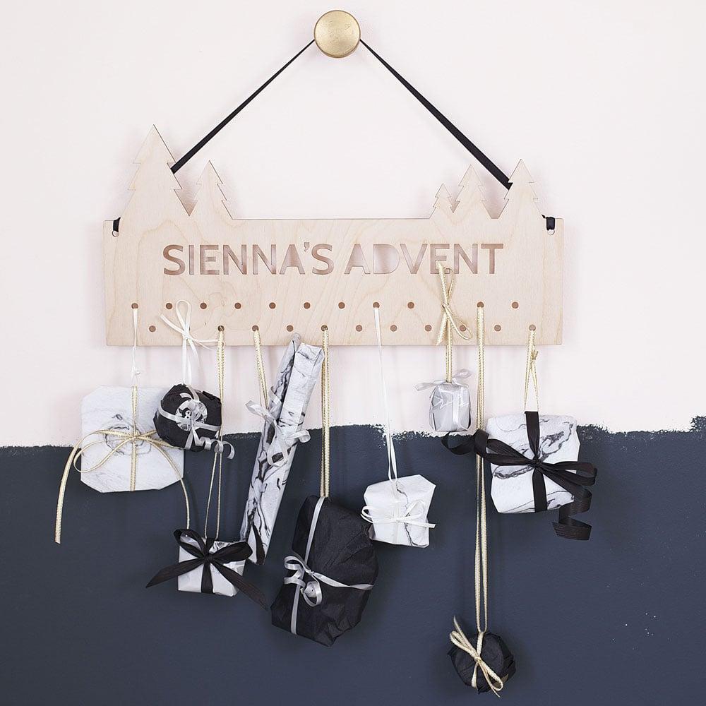 Adventskalender für Erwachsene im skandinavischen Stil