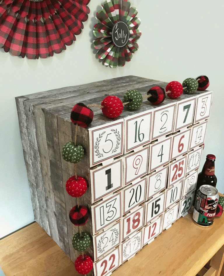 adventskalender f r m nner anleitung f r bier. Black Bedroom Furniture Sets. Home Design Ideas