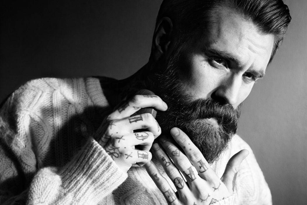 Die Lösung der täglichen Problemen der Männer mit Bart versteckt im Bartpflege