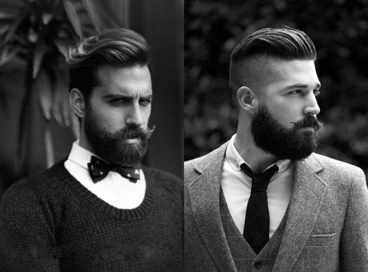 Tragen Sie Bartwachs auf den Bart auf, um Ihrem Bart-Look den letzten Schliff zu geben.