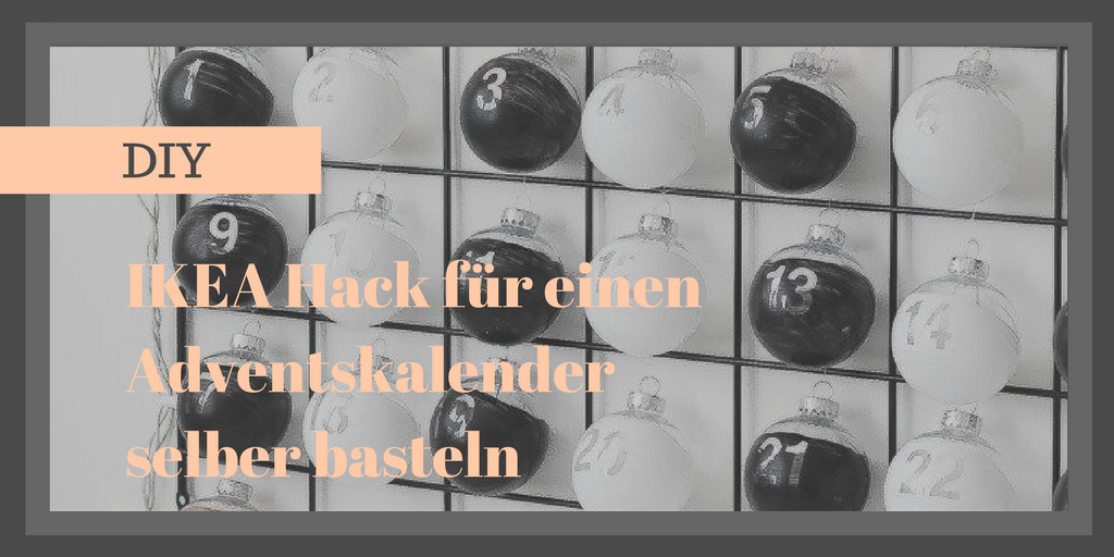 IKEA Hack für Basteln Weihnachten