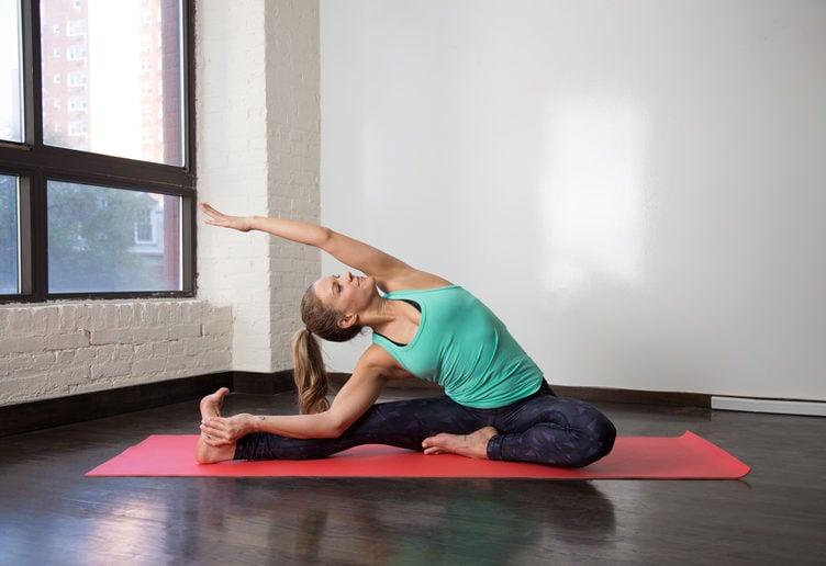 Yoga Übungen halten gesund