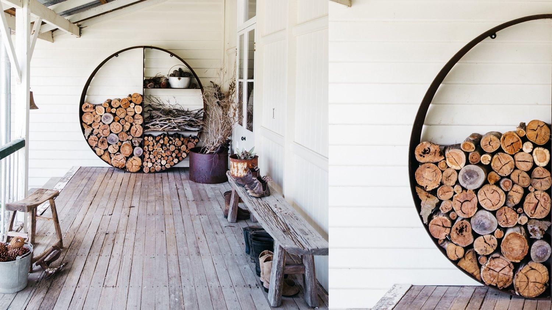 Ideen für großzügige Brennholzlagerung zum Nachmachen