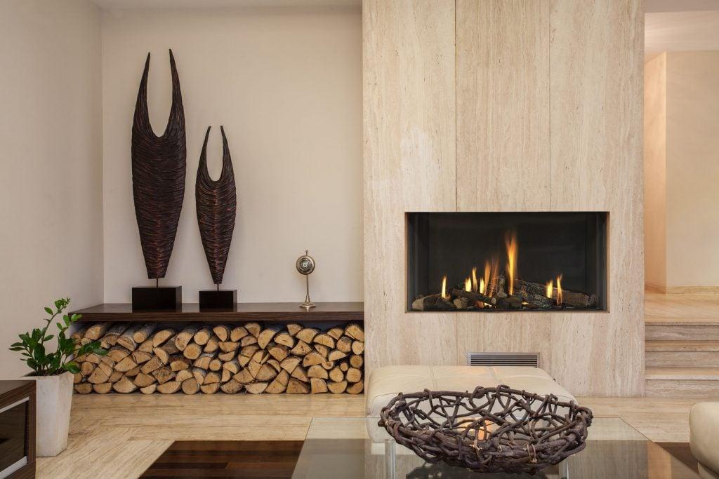 Wie soll man Brennholz lagern?