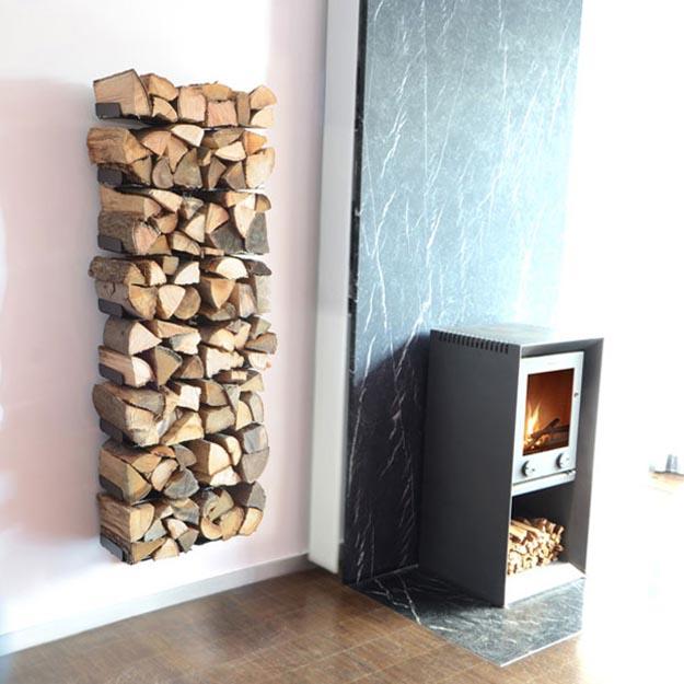 Wie kann man am besten das Brennholz trocknen?