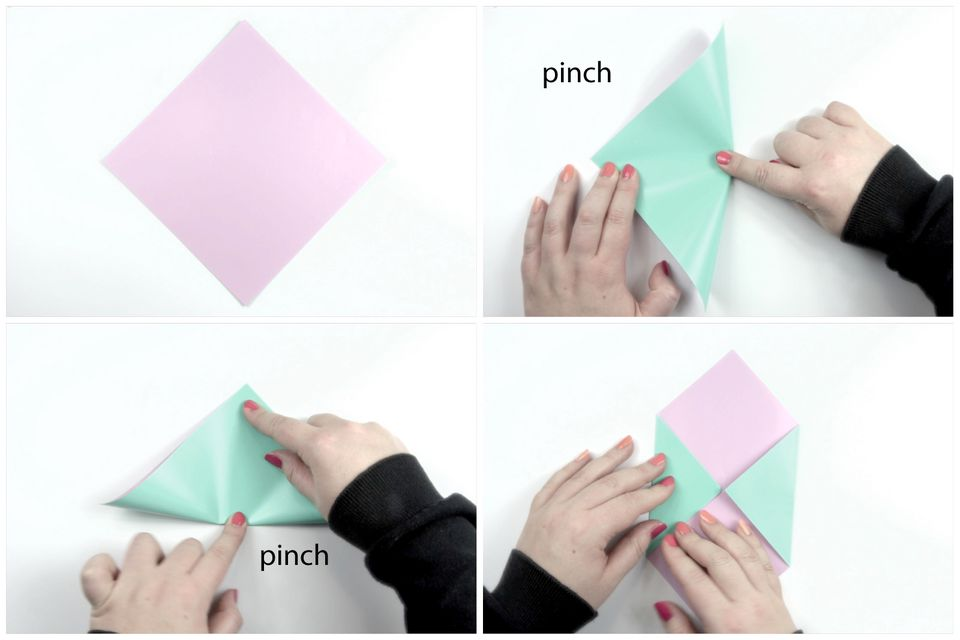 Brief Falten Sichtfenster : Briefumschlag falten in sekunden kreative diy