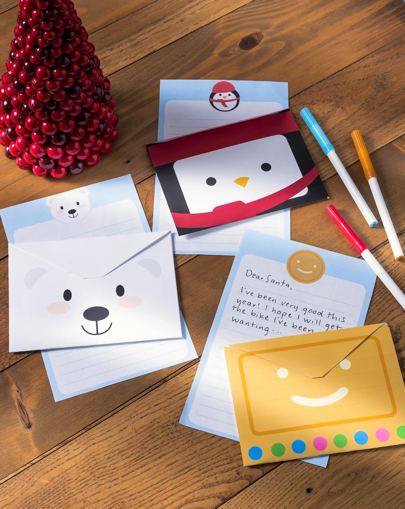 Weihnachtlihchen Briefumschlag falten