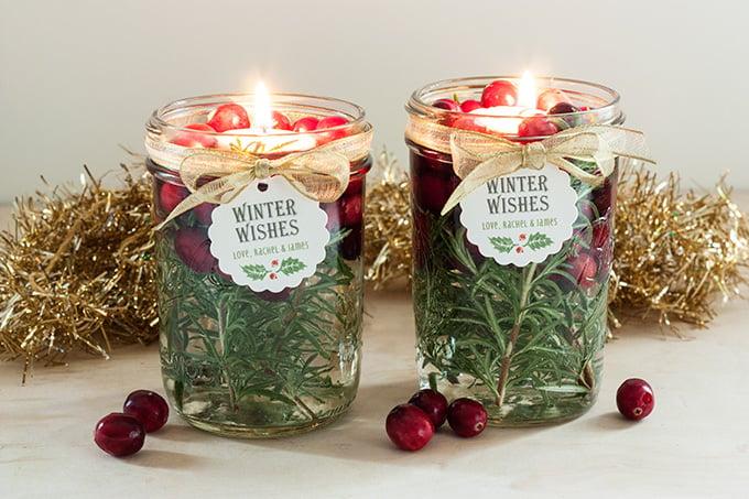 Ideen für Weihnachtsgeschenke Basteln