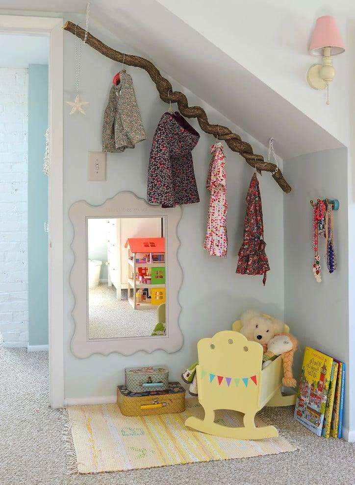 Viele Garderoben Ideen für ein Kinderzimmer