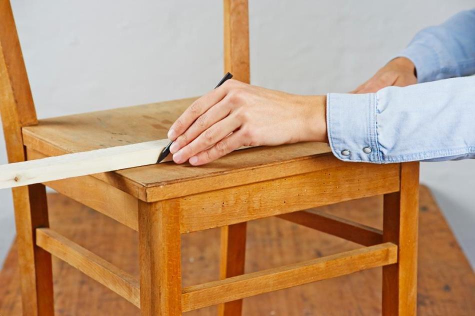 Eingangsbereich gestalten - eine Stuhl-Garderobe selbst bauen