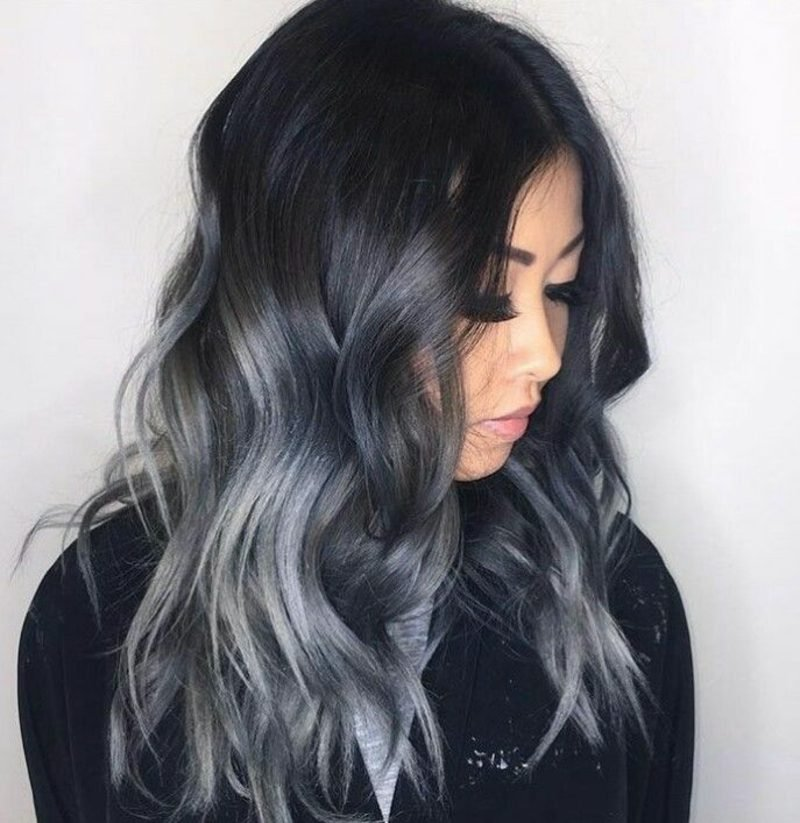 dm Haarfarbe Dunkelgrau angesagt