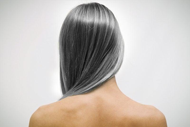 Haartönung graue Haare färben