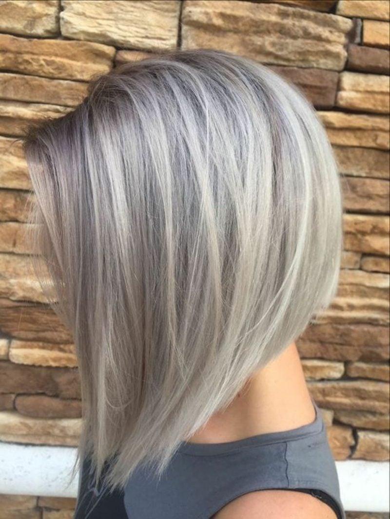 granny hair moderner Look