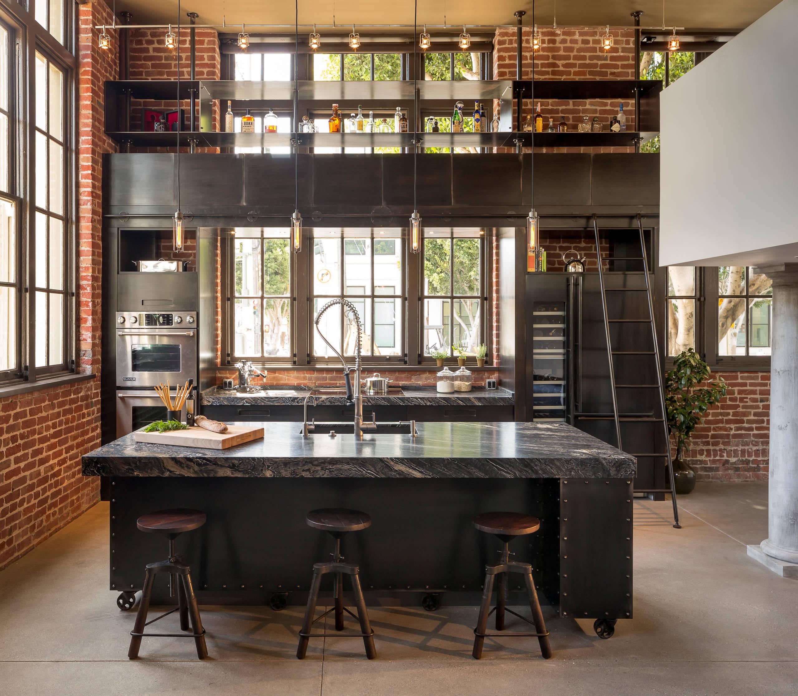 K chentrends ein kurzer r ckblick und was sie 2018 erwartet innendesign k che zenideen - Cuisine industrielle design ...