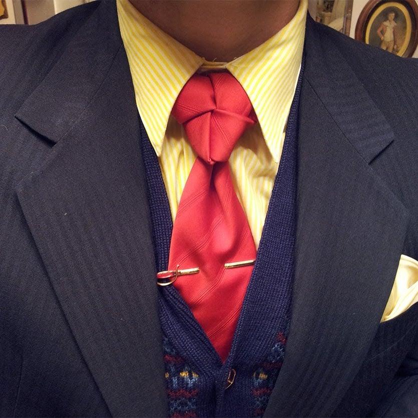 Tragen Sie Ihre Krawatte mit Stil!