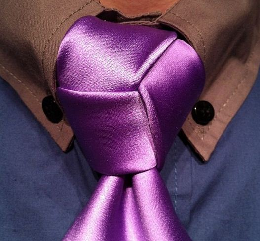 Krawattenknoten wie Profi binden
