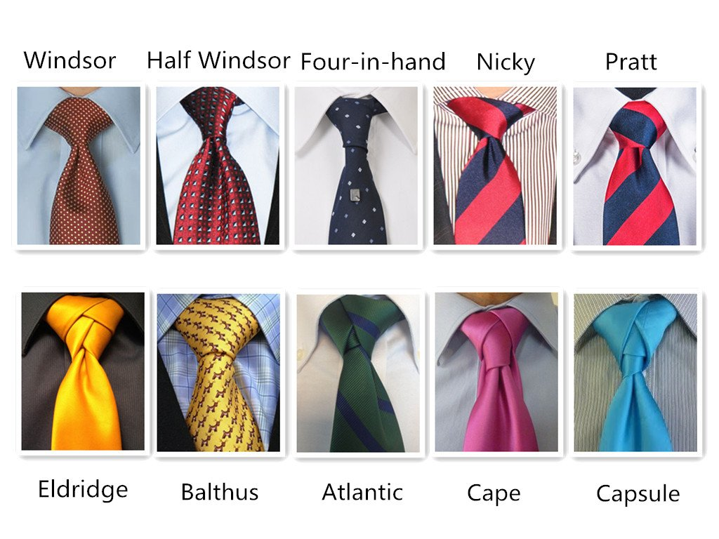 Most Fashionable Tie Knot