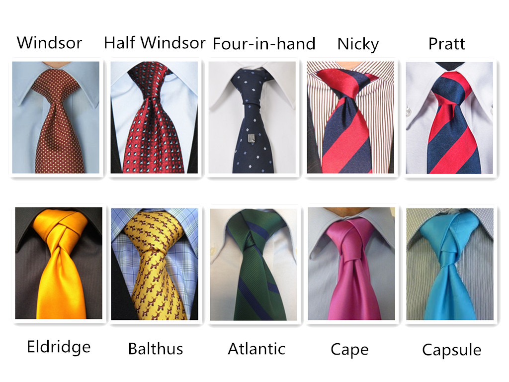 Krawattenknoten für jeden Anlass