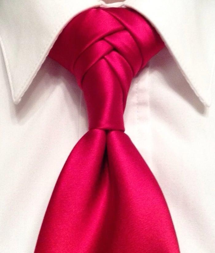 Anleitungen für Krawattenknoten