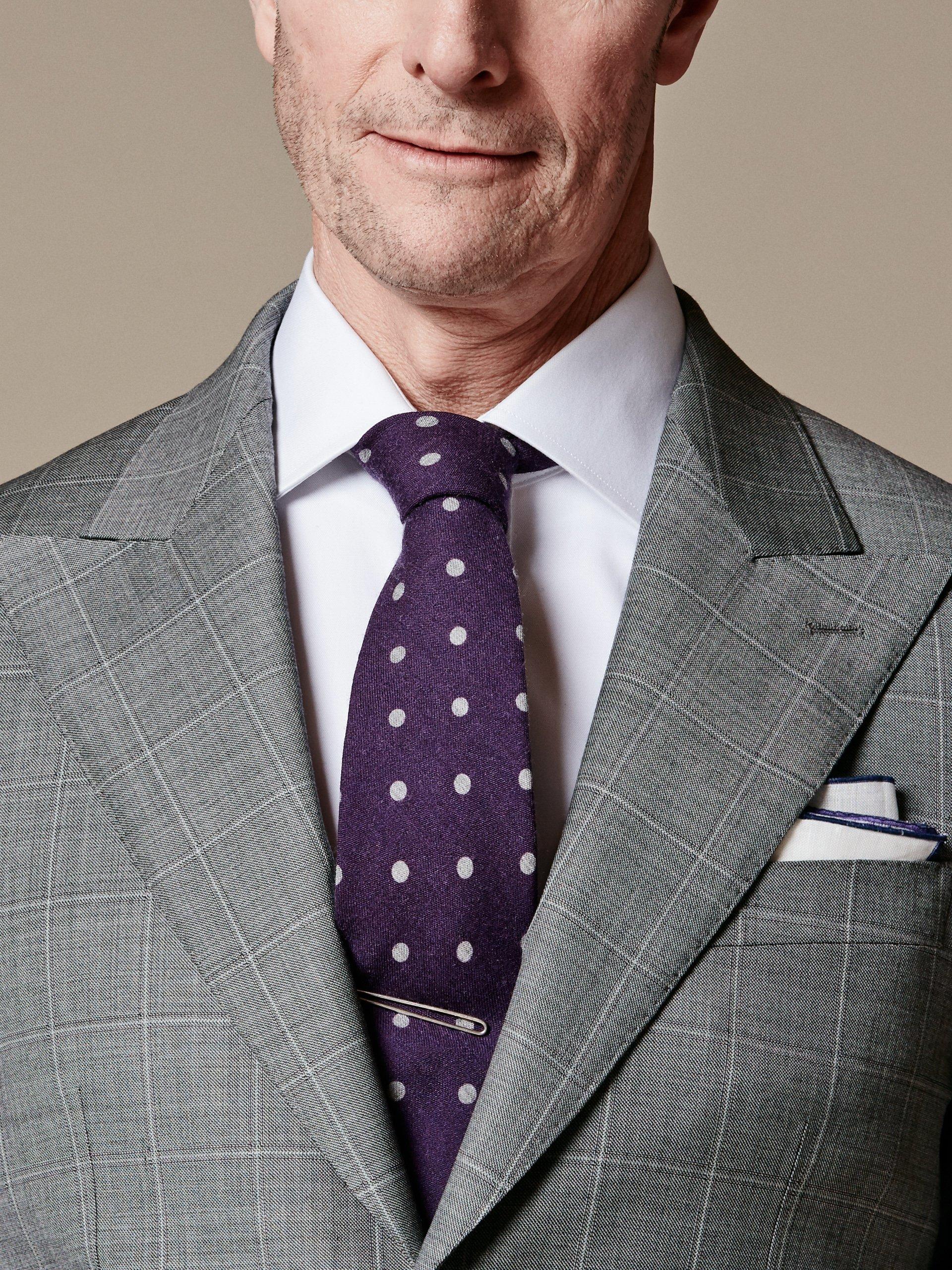 Ausführliche Anleitung für Half Windsor Krawattenknoten