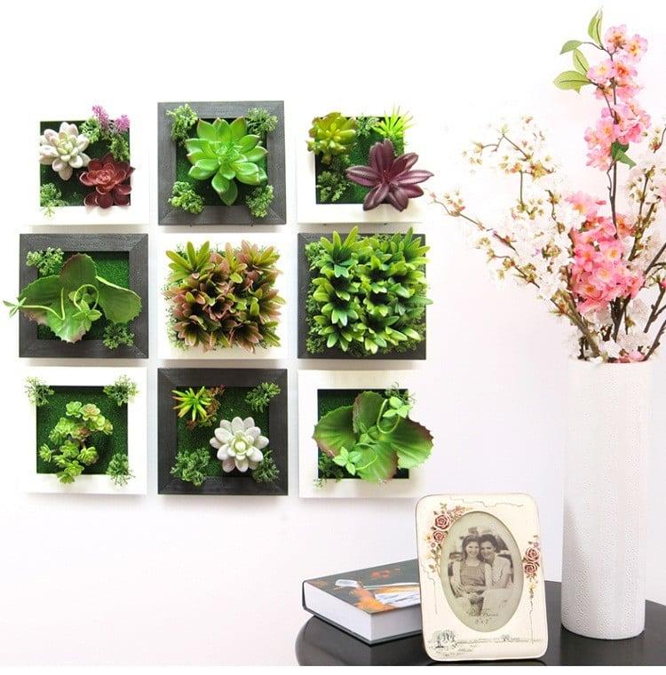 Einige alternative kreative Ideen - ein einzigartiges Geschenk mit Kunstblumen