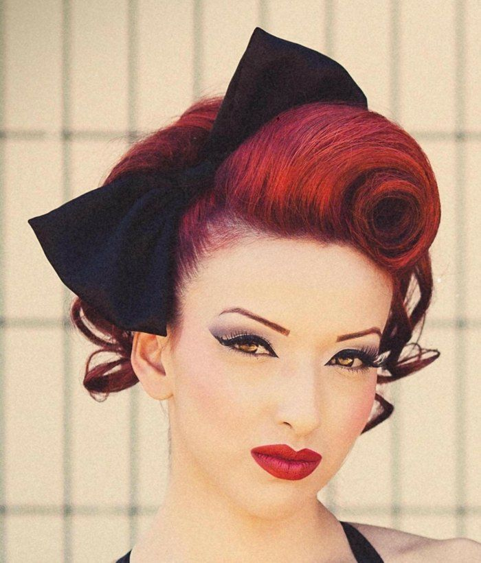 Rockabilly Frisuren Diy Anleitungen