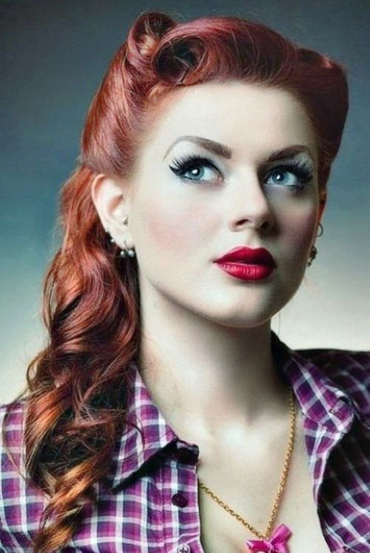 Rockabilly Make Up sieht so sexy aus
