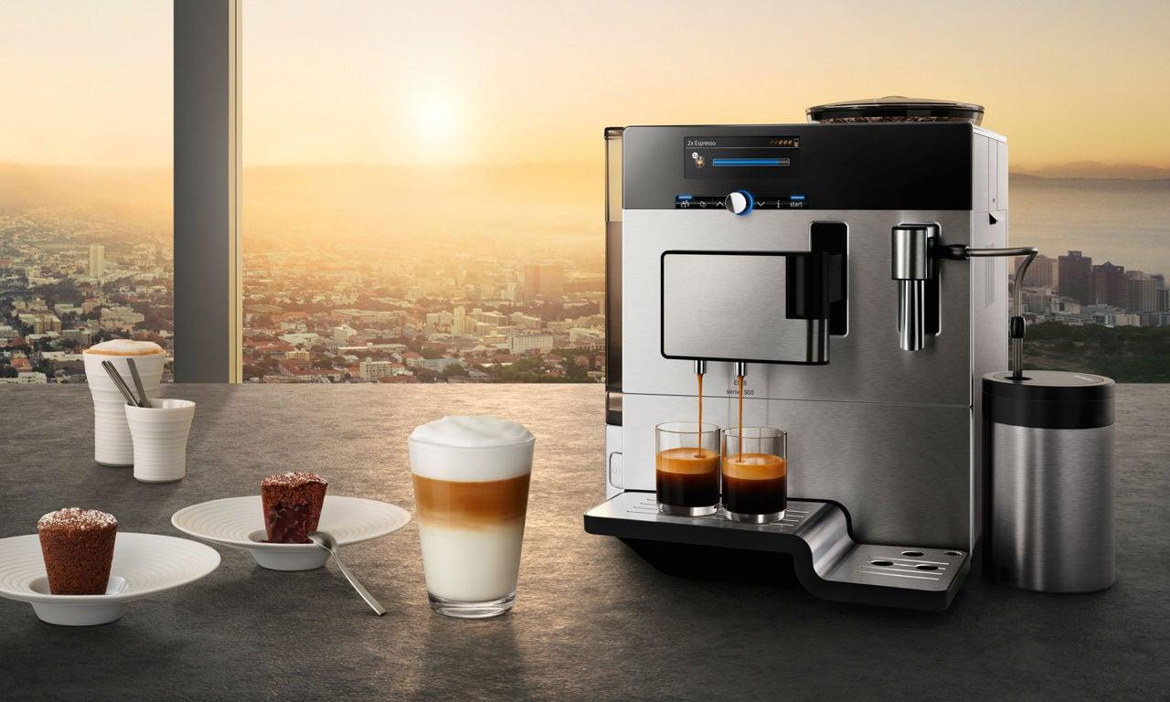 Die Rösterei Hamburg ist mit den modernsten Kaffeevollautomaten ausgerüstet