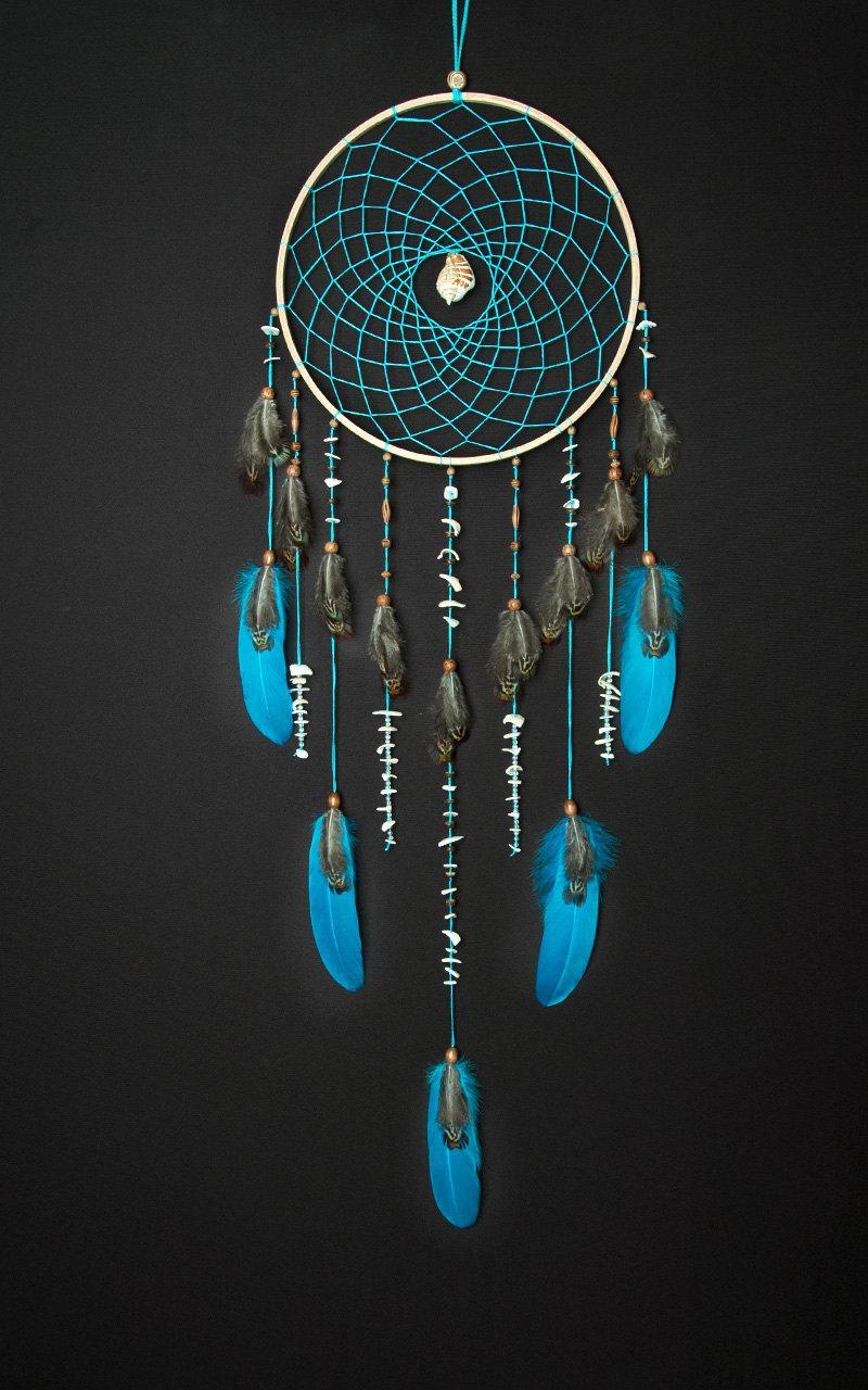 Ideen für Traumfänger Basteln aus Naturmaterialien