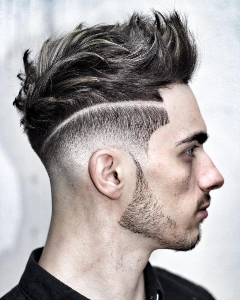 Die Undercut Frisur - das Gesicht der Mode bei Männerfrisuren über die Jahre hinweg