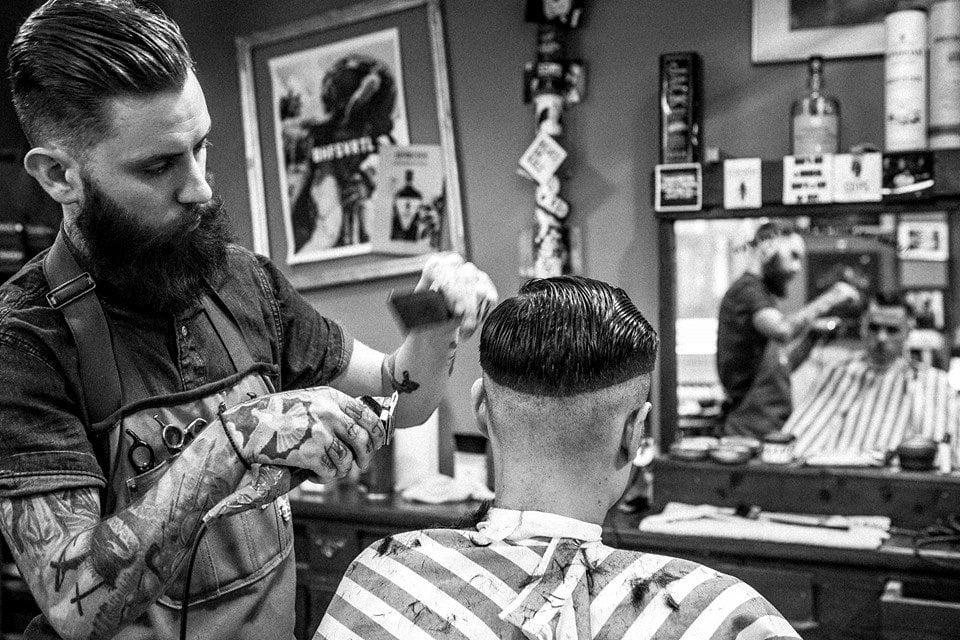 Das Barbershop - der richtige Platz für Ihren Undercut