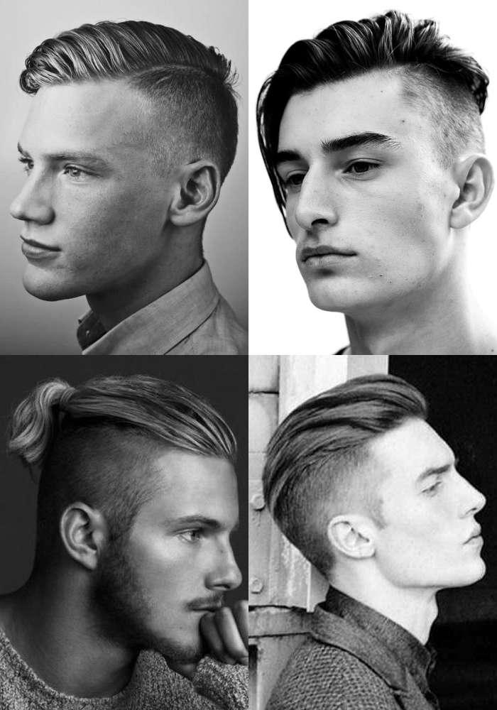 Die Vielfalt einer Undercut Männer Frisur