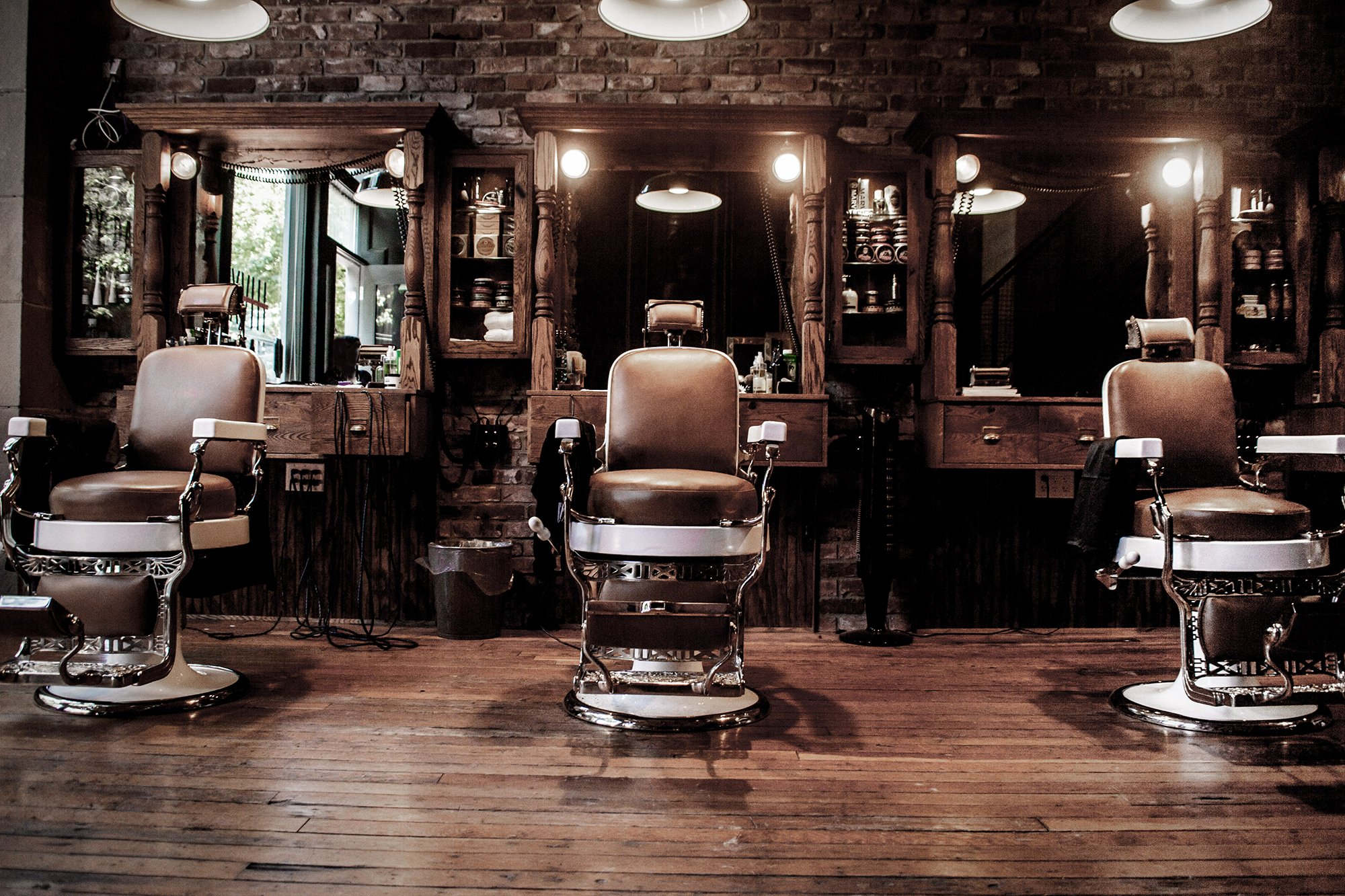 Das Barbershop - der perfekte Patz für einen Undercut mit Übergang