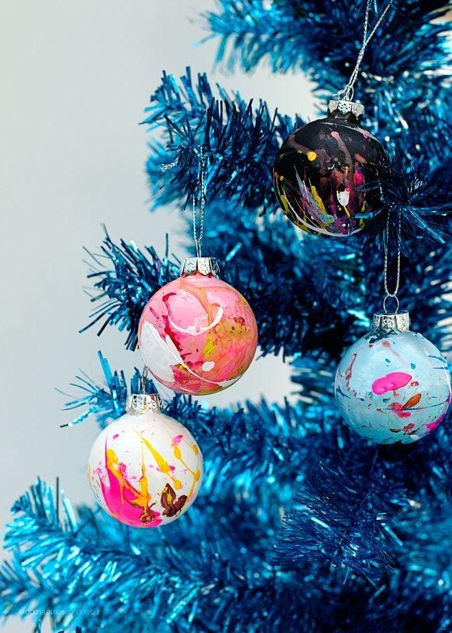 Retro Deko zu Weihnachten basteln