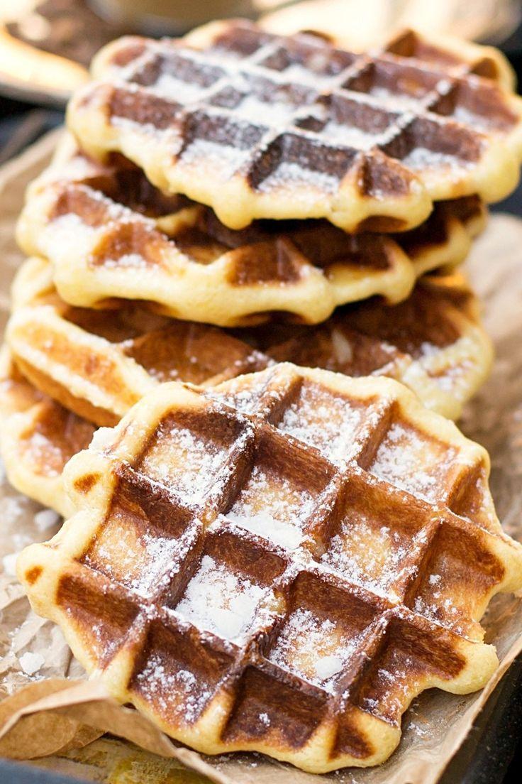 Süße Waffeln zum Frühstück - Lesen Sie das Rezept hier!