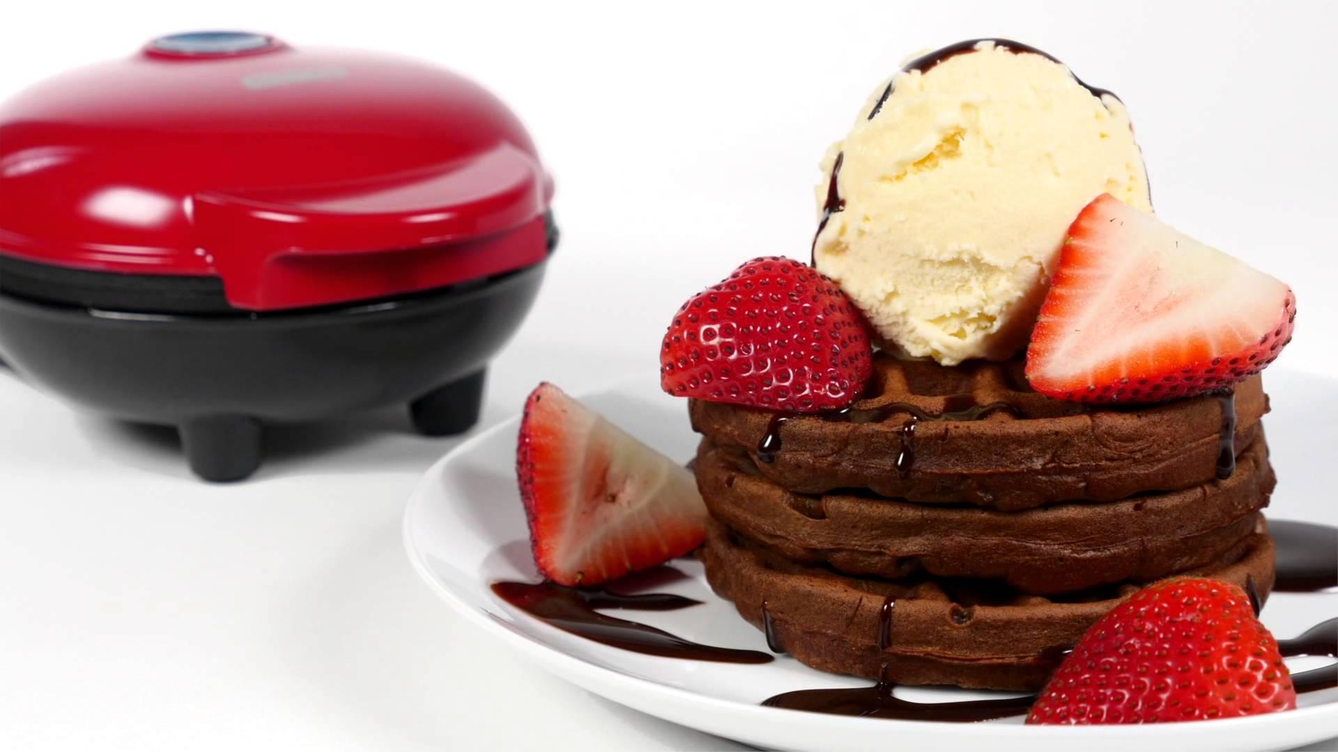 Brownie-Waffel - der leckerste Waffelteig unter allen