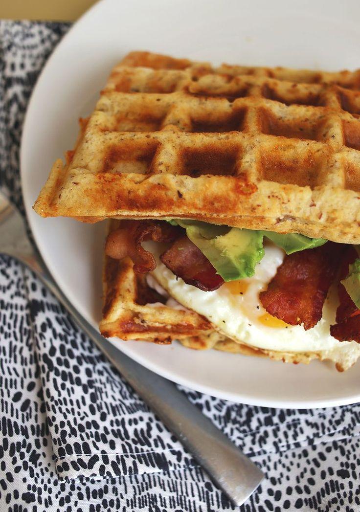 Waffeln zum Frühstück