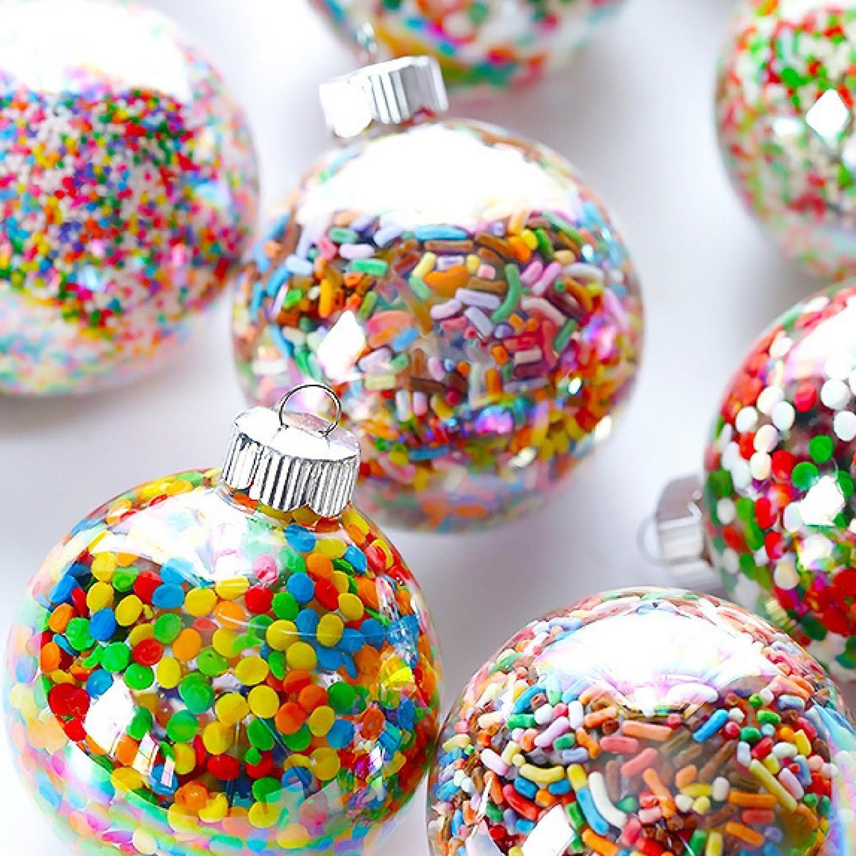 Weihnachtsbasteln mit Kindern - Christbaumschmuck selber machen