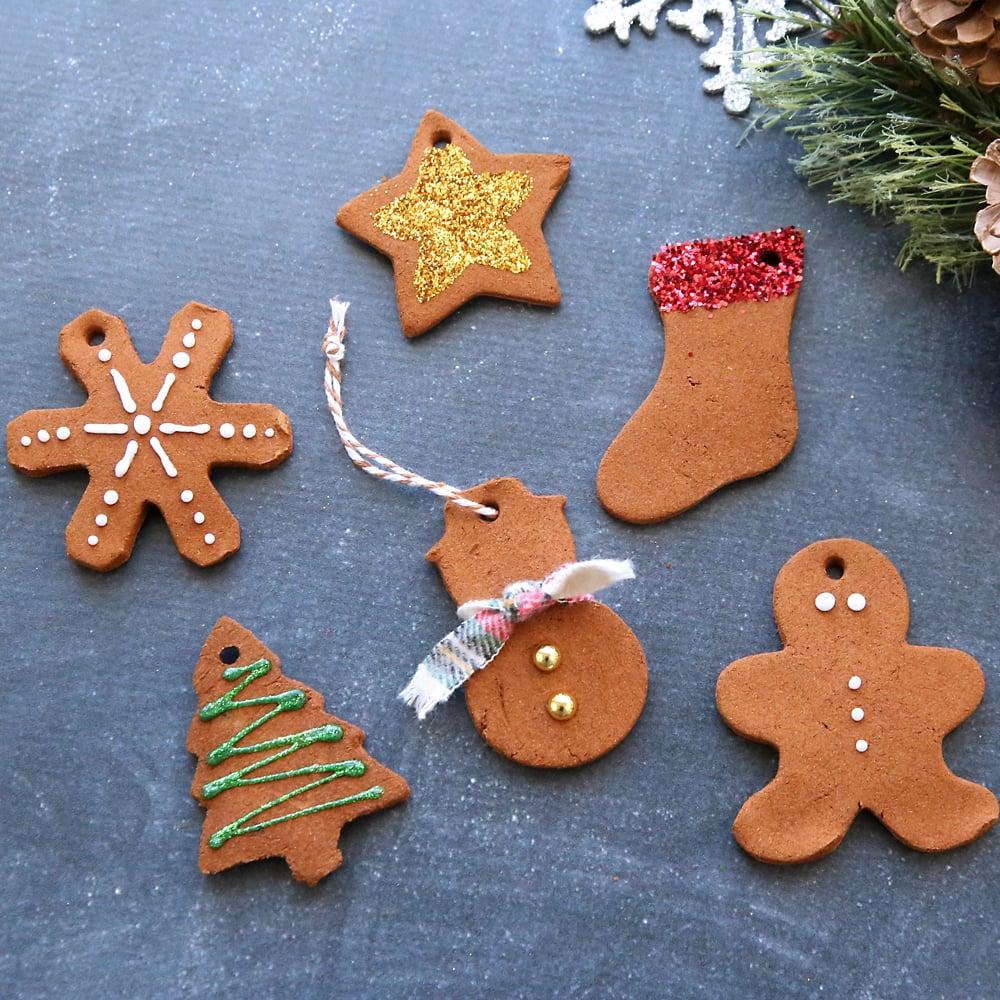 Basteln mit Kindern - Weihnachtsgebäck Christbaumschmuck