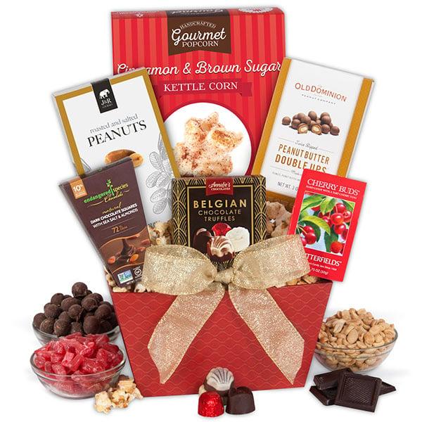 Süßigkeiten Schenken als eine Idee für selbstgebastelte Geschenke